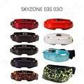 Skyzone SKY03 SKY03O Oled SKY03S 03O 03 5,8 GHz 48CH la diversidad FPV gafas de apoyo OSD DVR HDMI con la cabeza ventilador de seguimiento LED para RC