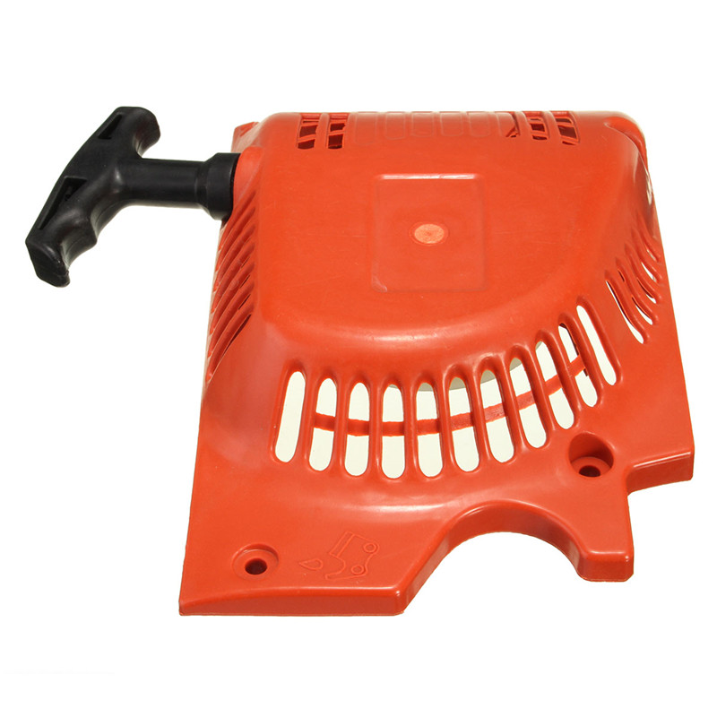 Recoil Pull Starter For Chinese Chainsaw 4500 5200 5800 45 52cc 58cc Raptor Red