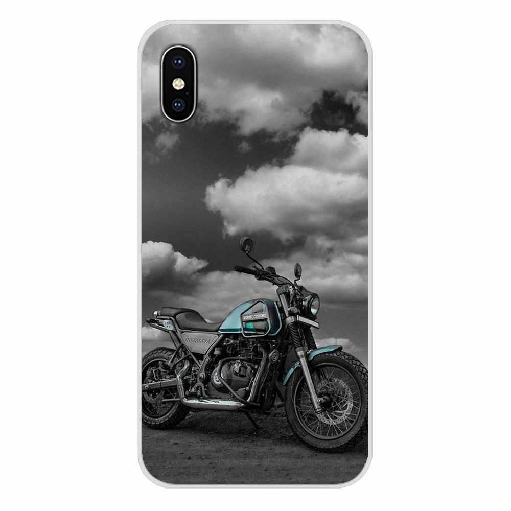 Pour Huawei G7 G8 P7 P8 P9 P10 P20 P30 Lite Mini Pro P Smart Plus 2017 2018 2019 accessoires sac étui rétro moto course moteur