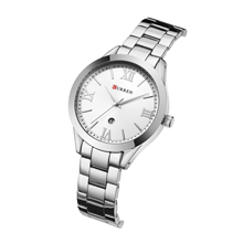 CURREN Women Watches Classic Fashion Female Calendar Waterproof Quartz Wrist Stainless Steel Relogio Feminino