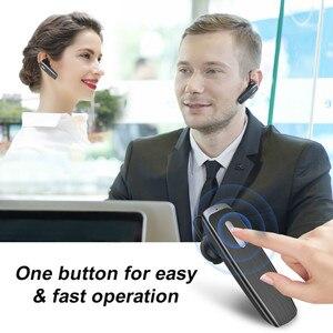 Image 5 - Yeni arı B30 Bluetooth kulaklık 22Hrs konuşan kablosuz kulaklıklar gürültü iptal Mic ile Handsfree kulaklık kulaklık için telefon