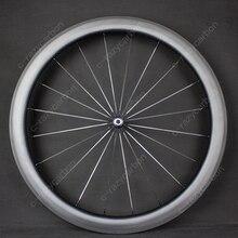 700C Piena del Carbonio Wheelset con Novatec 291/482 Mozzi Della Bicicletta in Bicicletta Il Trasporto Libero di Ciclismo Su Strada Ruote di Qualità In Vendita