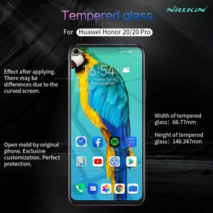 Image 5 - Huawei Honor 20 Pro Tempered Glass Screen Protector Nillkin 9H Hard Clear Safety Glass for Huawei Honor 20 Pro Protective Glass