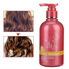 260ml Curl Enhancer Long-lasting Moisturizing Hair Styling Anti Frizz Volumizing Gel Hair Elastin Curly Cream
