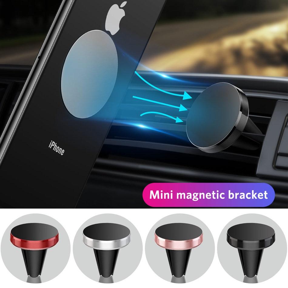 Магнитный держатель для телефона UIGO для Redmi Note 8 Huawei в автомобиле, GPS, крепление на вентиляционное отверстие, Магнитная подставка, автомобиль...