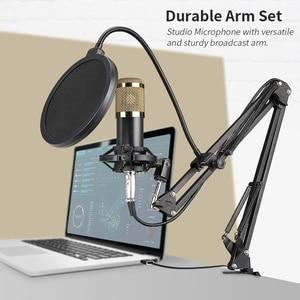 Image 2 - Condenser Microphone Bundle BM 800 Mic Set for Stu dio Recording & Brocasting Microphone Kit for Pc Computer