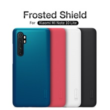 Nillkin Cover For Xiaomi Mi Note 10 Lite Case Super Frosted Shield Hard PC Phone protector Back Cover For Xiaomi Mi Note10 Lite