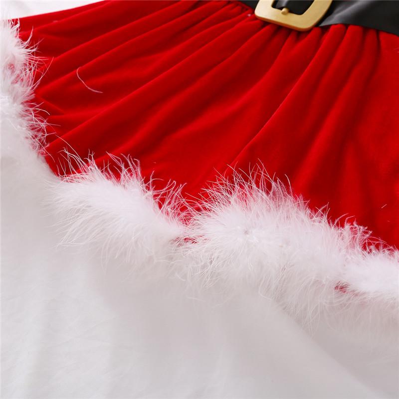 Baby Christmas Fleece Dress