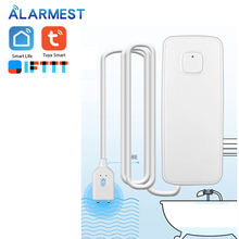 Alarmest Tuya WIFI Water Leak Sensor Protection Alarm Detector control  Tuya Smart Life App Power by Tuya