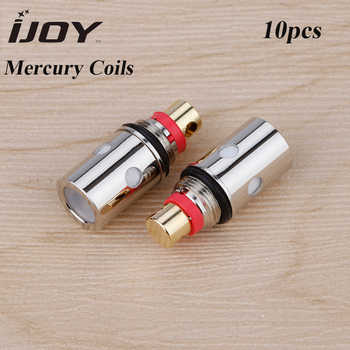 100% Original 5pcs IJOY Mercury Coil with 1.0ohm mesh coil/1.2ohm regular coil for IJOY Mercury Electronic Cigarette Vape Coil - DISCOUNT ITEM  34 OFF All Category