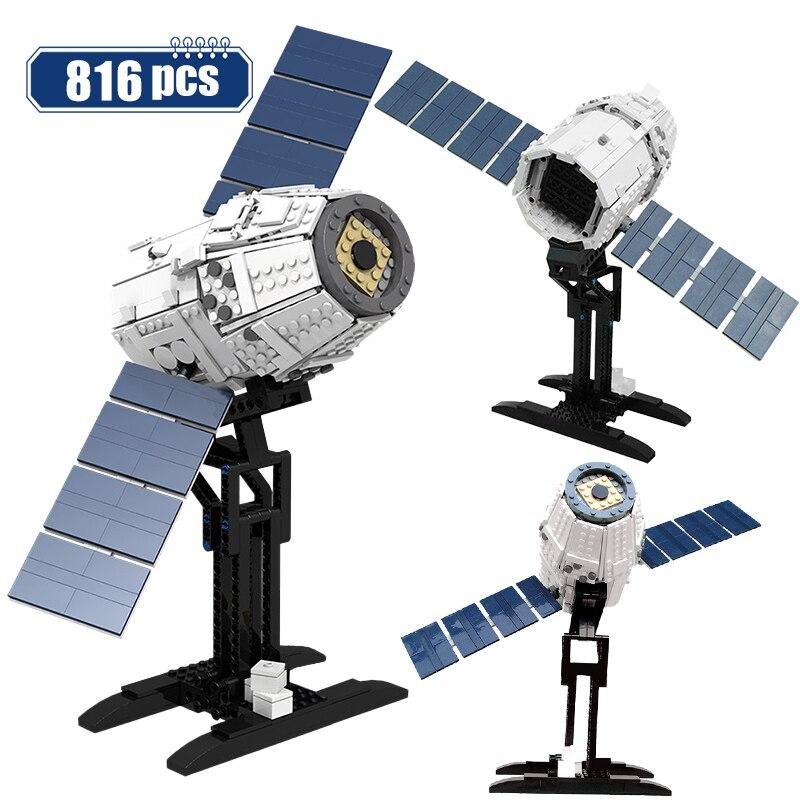 City Star militaire bras espace vaisseau spatial bateau fusée blocs de construction guerres avion Satellite astronaute briques jouet pour enfants
