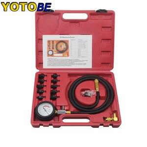 Image 4 - Engine Oil Pressure Test Kit Tester Low Oil Warning Devices Car Garage Tool