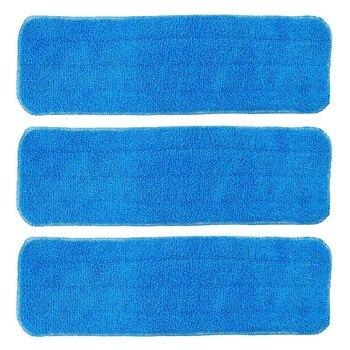3 Pack Microfiber Mop Vervanging Doek, Schoon Mop Pad Vullingen, Mop Hoofd Vervanging-in Dweilen van Huis & Tuin op