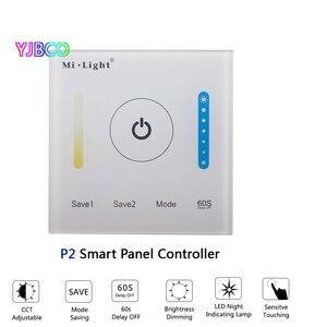 Image 3 - MiBOXER P1/P2/P3 스마트 패널 컨트롤러 디밍 Led 조 광 기 RGB/RGBW/RGB + CCT 색 온도 CCT Led 패널/스트립 빛
