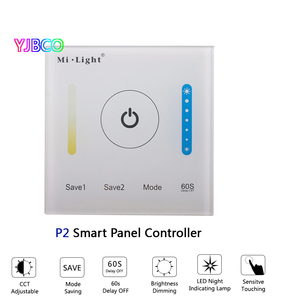 Image 3 - MiBOXER P1/P2/P3 Smart Panel Controller Dimming Led Dimmer RGB/RGBW/RGB+CCT Color Temperature CCT for Led Panel/Strip Light