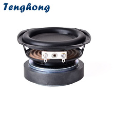 Bookshelf Speaker Hifi Woofer 3inch Audio 20W 1 Tenghong 20-Core-8ohm 1pcs Unit Rubber-Edge