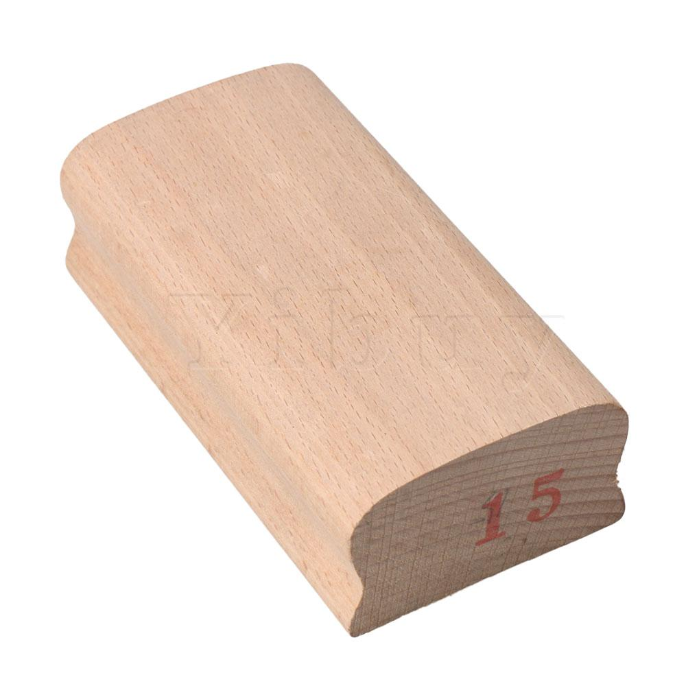 Yibuy Wood Color Maple <font><b>Guitar</b></font> Fingerboard <font><b>Radius</b></font> Sanding <font><b>Block</b></font> DIY 15# image