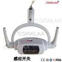 Free shipping Dental 6 LEDs Oral Light Lamp For Dental Unit Chair Ceiling Type shadowless Oral Light Sensor Lights