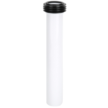 Biała ukryta woda toaletowa prosta rura do spłukiwania wydłużona rura do spłukiwania dodatki przybory toaletowe tanie i dobre opinie VGEBY Other Grawitacja flushing Czujnik pisuar Toilet Flush Pipe Top spud Stojąc pisuary