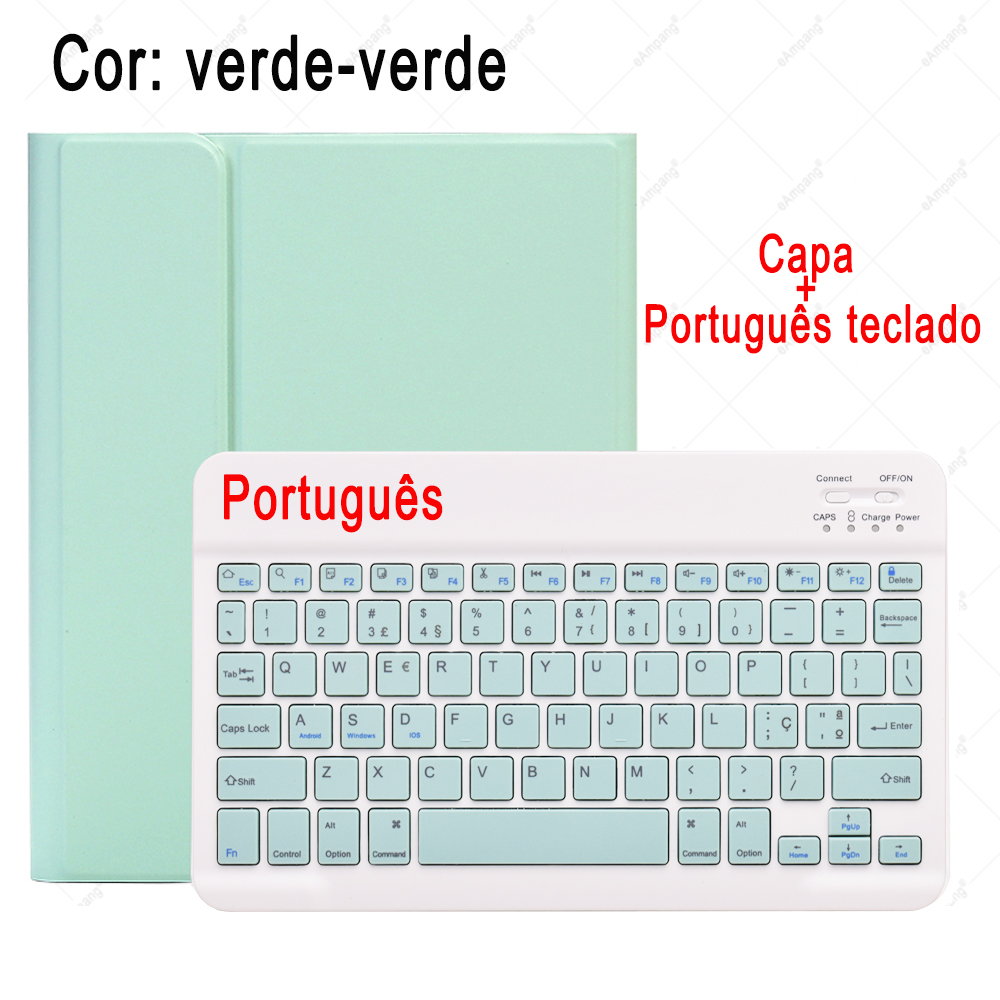 10.9 Russian A2072 Spanish Air4 For Korean Keyboard A2324 iPad 2020 Case Mouse English