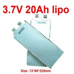 GTK 3.7v 20Ah li-polymère batterie au lithium 3.7v 20AH lipo décharge 60A pour bricolage 12v 24V scooter ebike golf cart puissance de secours RV