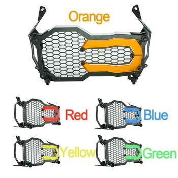 For BMW R1200GS R1250GS Adventure Headlight Protector R 1200 1250 R1200 GS LC 2013-2020 Motorcycle Head Light Guard Grille Cover motorcycle headlight protector cover clear grid for bmw r1200 gs r1200 gs adventure r 1200gs 2012 2013 2014 2015 2016 2017 2018