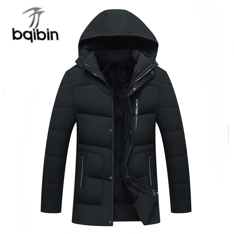 New 2019 Winter Jackets Men Thicken Warm Coats Male Casual Parka Hooded Casaco Masculino Outwear Men Clothes J635