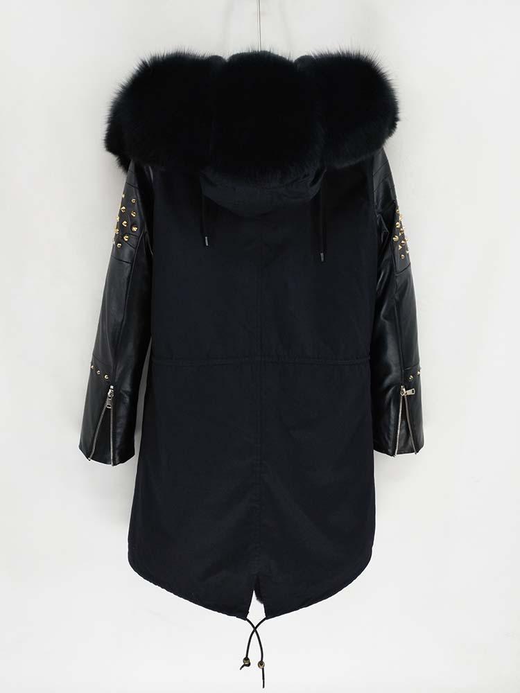 United Leather Sleeves Jacket 29