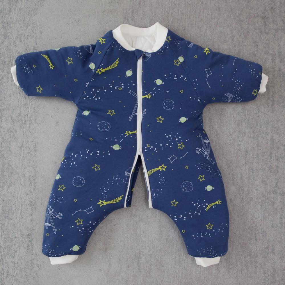 Sac de couchage bébé nouveau-né sac de transport hiver chaud épais enfants enfant jouer 6Months-4Y jambe fendue Anti Tipi sac de couchage bébé