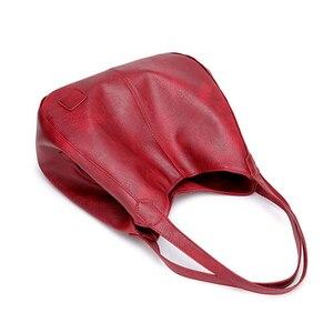Image 3 - SMOOZA sacs à main Vintage en cuir pour femmes, sacoches de luxe de marque célèbre, Sac de grande capacité, fourre tout, nouvelle collection 2020