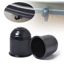 1 шт. 50 мм Автомобильный фаркоп, черный колпачок, буксировочный мяч, буксировочный защитный чехол для RV грузовика кемпера 2,4x2,4x2,6 дюймов, автомобильные аксессуары