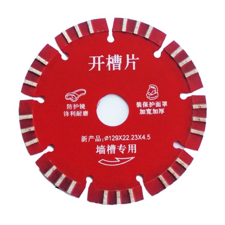 Saw Blade 129/133/160mm Cutting Machine Original Saw Blade Hard Alloy Wall Slot Concrete Cutting Ma