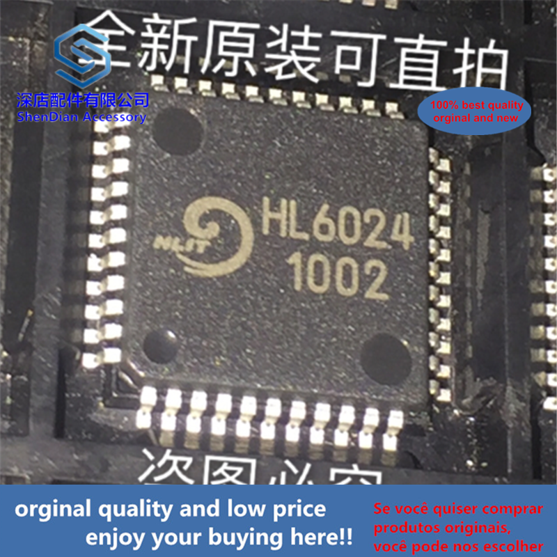 5pcs 100% Orginal And New HL6024 HL QFP-44 QFP  Best Qualtiy