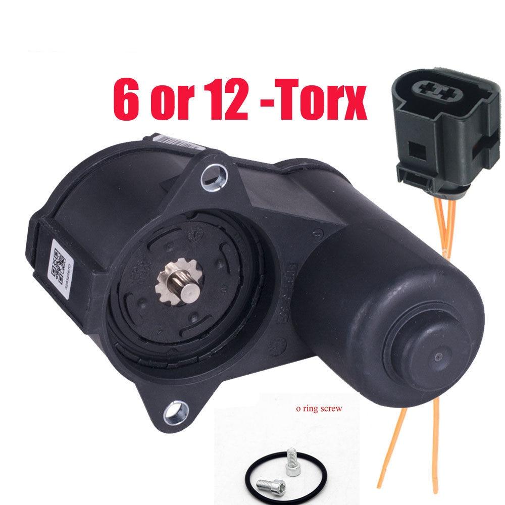 6/12 Torx Posteriore Pinza Freno di Stazionamento Servo Motore 3C0998281 3C0998281B 32330208 per Il Vw Passat B6 Cc Tiguan Audi