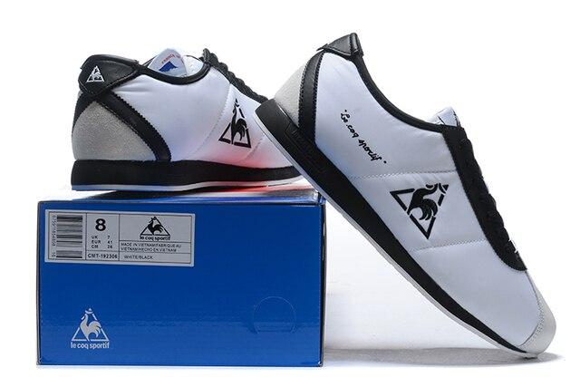 2020 كلاسيكي أصلي لو كوك سبورتيف رجالية احذية الجري ، جودة عالية لو كوك سبورتيف ذكر نساء زوجين تنفس الرياضة حذاء رياضة