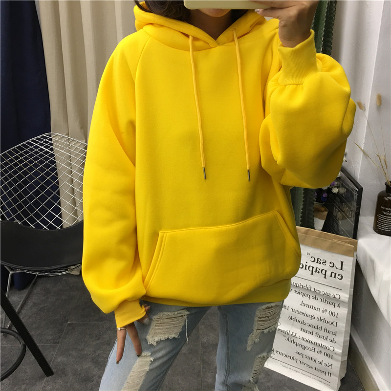 Hfc13fd2f5409474ca66a8be3816e8ec7f - Autumn winter Harajuku Solid Sweatshirt Women Long Sleeve Hoodie Loose Women Hoodies Sweatshirts Casual Tracksuit