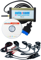 2020 autocoms 스캐너 자동차 및 트럭 진단 (소형 진단 파트너) OKI 칩 풀 세트 자동차 케이블  무료 배송