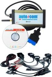 2020 jakość A dla AUTOCOMS CDP Pro dla samochodów osobowych i ciężarowych (kompaktowy Partner diagnostyczny) OKI CHIP z bezpłatną wysyłką  pełny zestaw kabli samochodowych