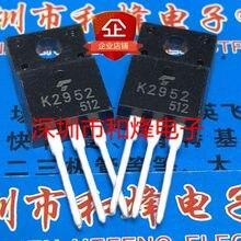 100% novo & original K2952 2SK2952 TO-220F 400V 8.5A 5 pçs/lote