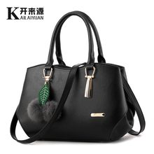 100% Genuine leather Women handbags 2019 New tide female bag Crossbody Bag shaped sweet lady shoulder handbag factory(China)
