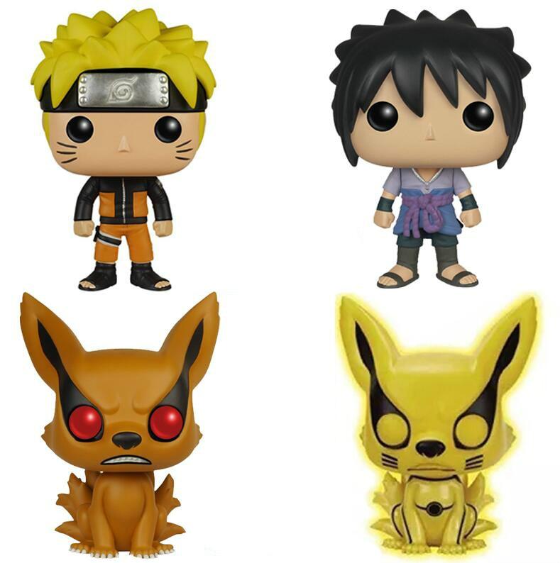 Funko Pop Anime Naruto Six Path Sasuke Movie Collectible Vinyl Movie Action Figure Model PVC Collection Toys