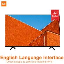 Xiaomi tv 4A 32 дюйма 1366x768 телевидение 64 бит четырехъядерный искусственный интеллект 1 ГБ 4 ГБ Смарт ТВ