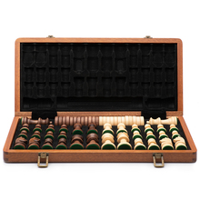 Tournament Table Chess Set Luxury Crafted High Quality Medieval Luxury Classic Retro Wooden Ajedrez Board Game Accessories E5