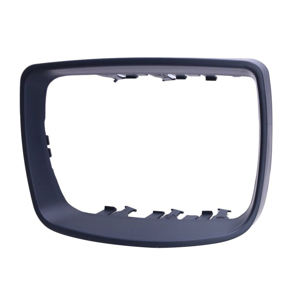 Right/Left Side Plastic Car Rearview Mirror Frame Cover Trim Ring 51168254904/51168254903 Replacement For BMW E53 X5 00-06