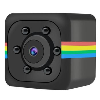 1 sztuk SQ11 Mini kamery kamera internetowa 960P kamera internetowa era HD wideorejestrator samochodowy z noktowizorem kamera szerokokątna kamera internetowa kamery IP kamera sportowa tanie i dobre opinie centechia CN (pochodzenie) Mini Camcorders Microsd tf CMOS Rubber support