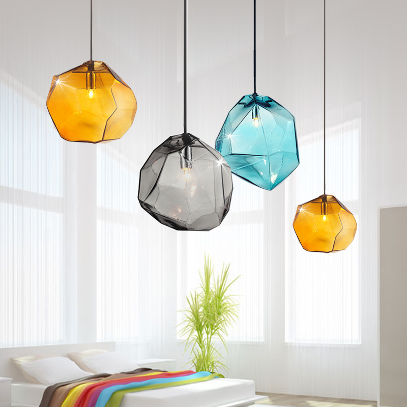 Windawn Nordic Pendant Lights Glass Ceiling Lamp Brass Hanging Lamp Classics Hotel Bedroom Living Room Office For Ceiling Lamp|Pendant Lights| |  - title=
