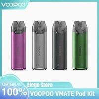 VOOPOO-Kit de vapeo Vmate Pod Original, 3ml, Cartucho de malla de 0.7ohm, batería de 900mAh, cigarrillo electrónico, vaporizador