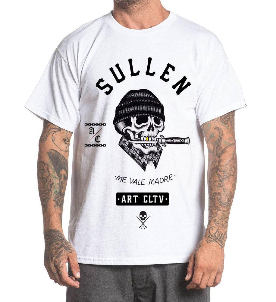 Белая футболка Sullen Men'S Ross K Jones