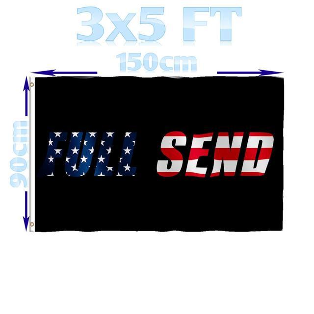 BENFACTORY Store 3x5 pieds noir | Drapeau complet des états-unis, monocouche 100D en Polyester avec œillets en laiton, intérieur et extérieur