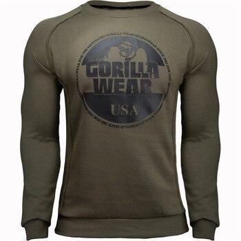 New Autumn Fashion High-elasticity T-shirt Men long Sleeve Fitness T shirt Mens Solid Gyms Bodybuilding brand Streetwear
